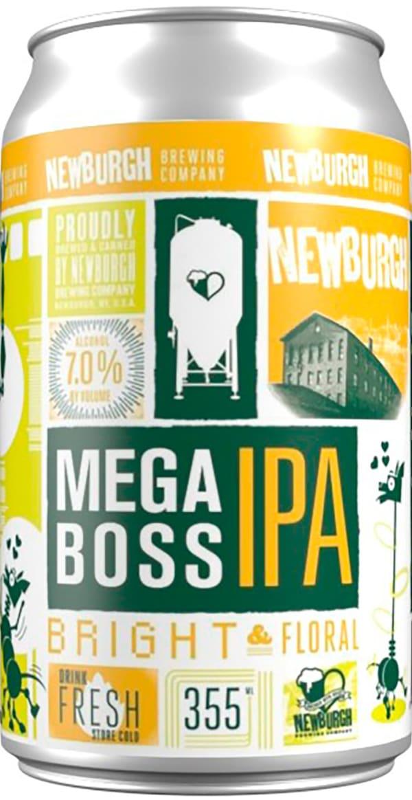 Newburgh MegaBoss IPA burk