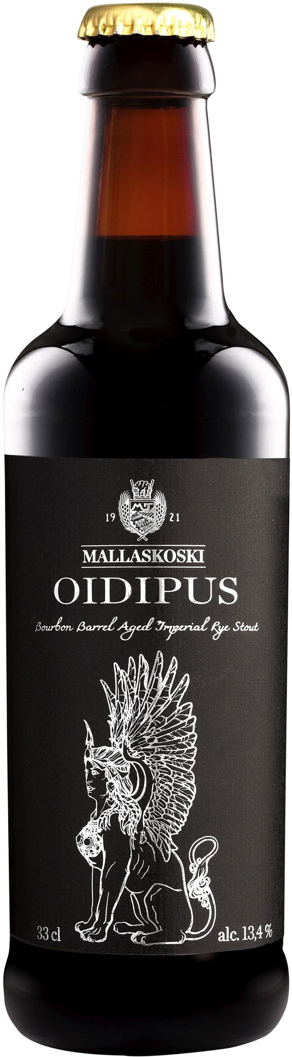 Mallaskoski Oidipus Bourbon Barrel Aged Imperial Rye Stout