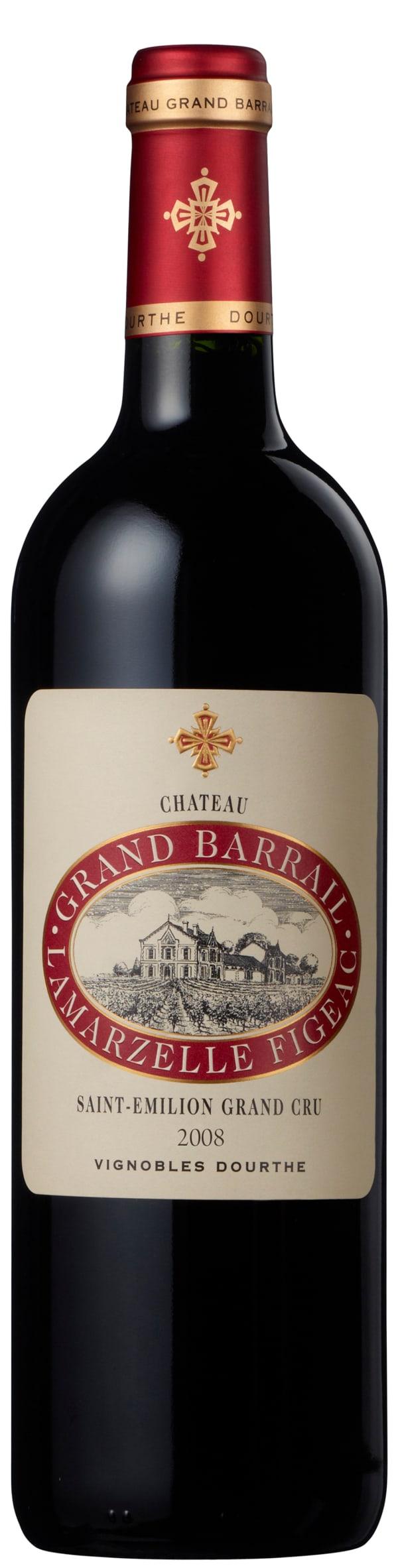 Château Grand Barrail Lamarzelle Figeac 2008