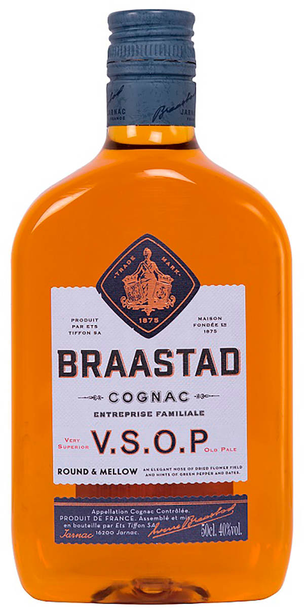 Braastad VSOP plastic bottle