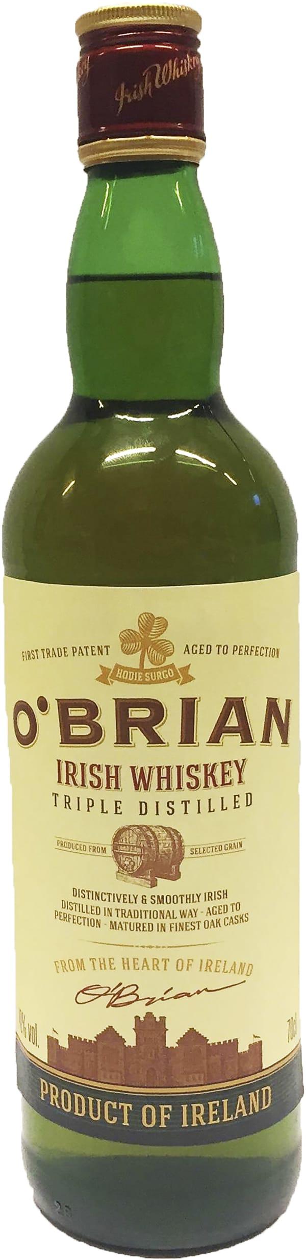 O'Brian Irish Whiskey