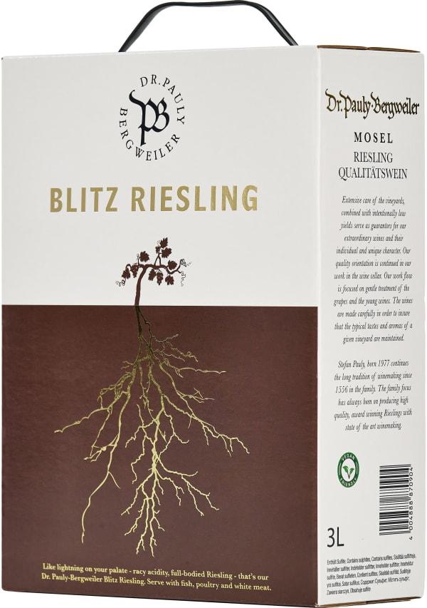 Dr. Pauly-Bergweiler Blitz Riesling 2020 lådvin
