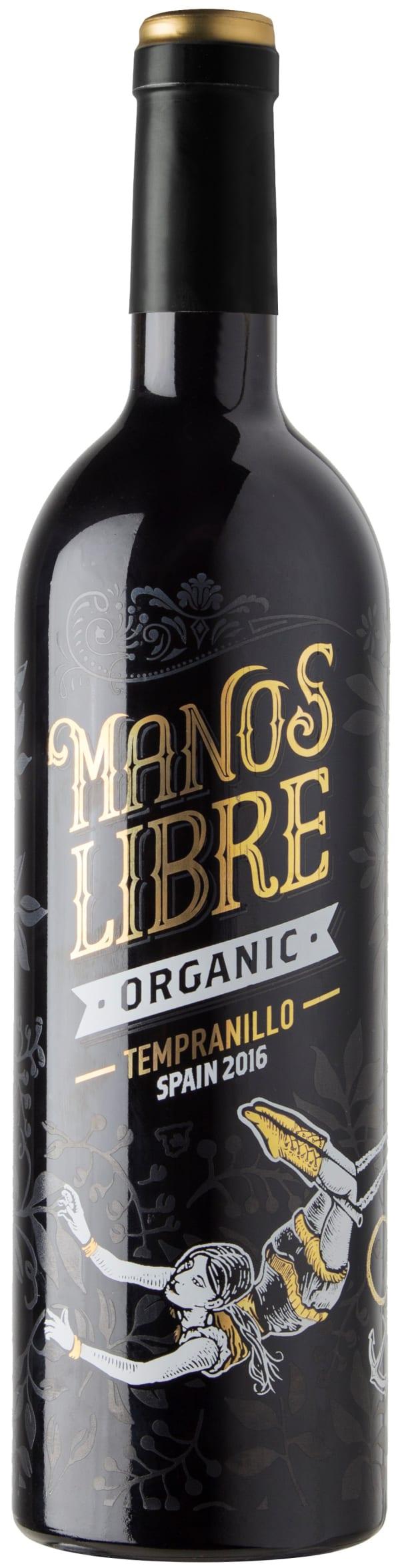 Manos Libre Organic Tempranillo 2016