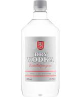 Dry Vodka plastic bottle