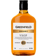 Greenfield Organic VSOP plastic bottle