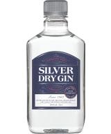 Silver Dry Gin plastic bottle