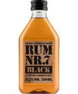Rum Nr. 7 Black plastic bottle