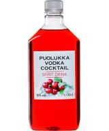 Puolukkavodka Cocktail plastic bottle
