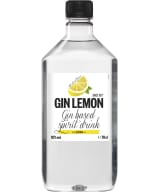 Gin Lemon plastic bottle