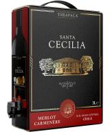 Tarapacá Santa Cecilia Merlot Carmenère 2020 lådvin