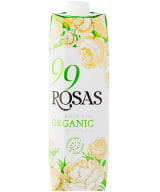 99 Rosas Organic White Wine 2020 kartongförpackning