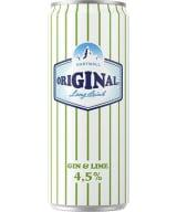 Hartwall Original Long Drink Gin & Lime burk