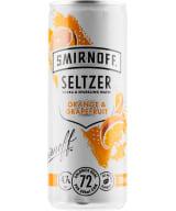 Smirnoff Seltzer Orange & Grapefruit can