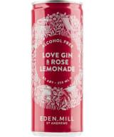 Eden Mill Love Gin & Rose Lemonade Mocktail can
