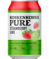 Koskenkorva Pure Strawberry Lime can