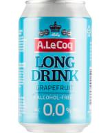 A Le Coq Long Drink Grapefruit Alcohol-free can