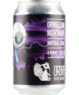 Orava Brewing Orwellian Nightmare Imperial Stout can