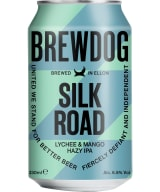 BrewDog Silk Road Lychee & Mango Hazy IPA can