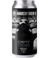 Anarchy Empty Crowd Imperial Stout can