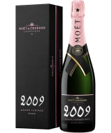 Moët & Chandon Grand Vintage Rosé Champagne Extra Brut 2009