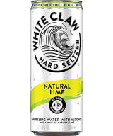 White Claw Hard Seltzer Lime burk