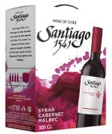 Santiago 1541 Syrah Cabernet Malbec 2019 bag-in-box