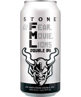 Stone Fear Movie Lions Hazy Double IPA can