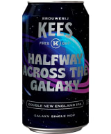 Kees Halfway Across the Galaxy Double New England IPA can