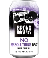Bronx No Resolutions IPA burk