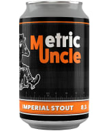 Tired Uncle Metric Uncle Imperial Stout can