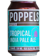 Poppels Tropical India Pale Ale can