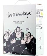 Thr3 Monkeys Fresh & Fruity White Wine 2020 bag-in-box