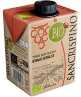 Sancrispino Syrah Merlot Organic carton package