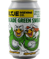 Uiltje Cascade Green Sweater Double IPA can