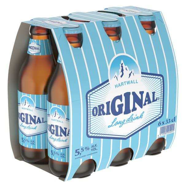 Original Long drink 6-pack  flaska