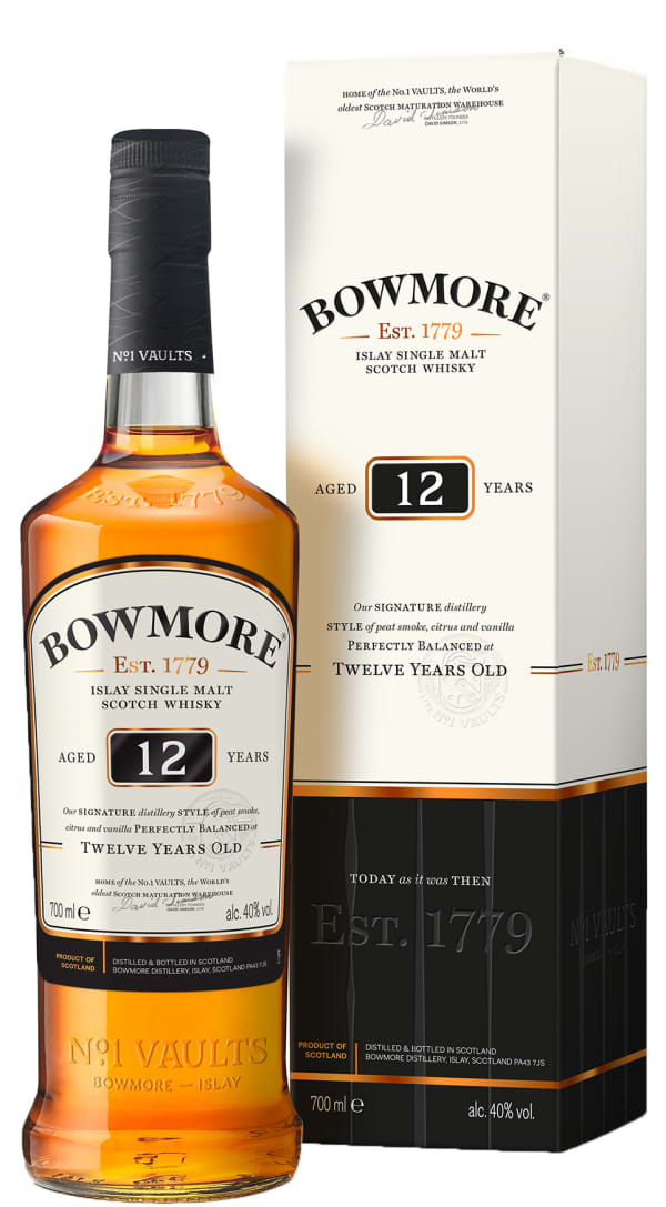 Bowmore 12 Year Old Single Malt