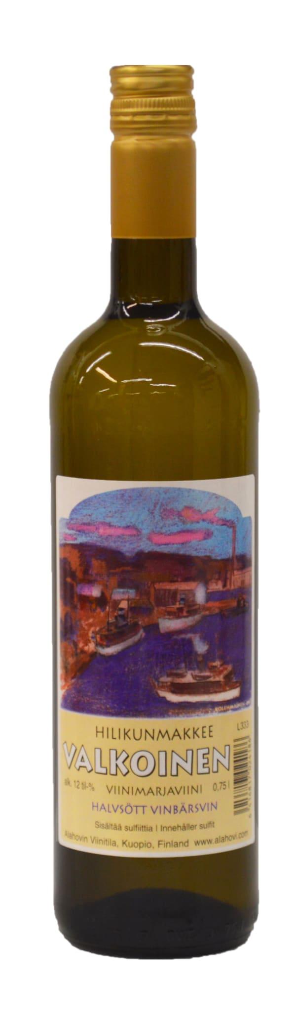 Alahovin Hilikunmakkee Valkoinen Viinimarjaviini