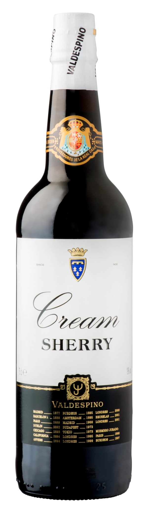Valdespino Cream Sherry
