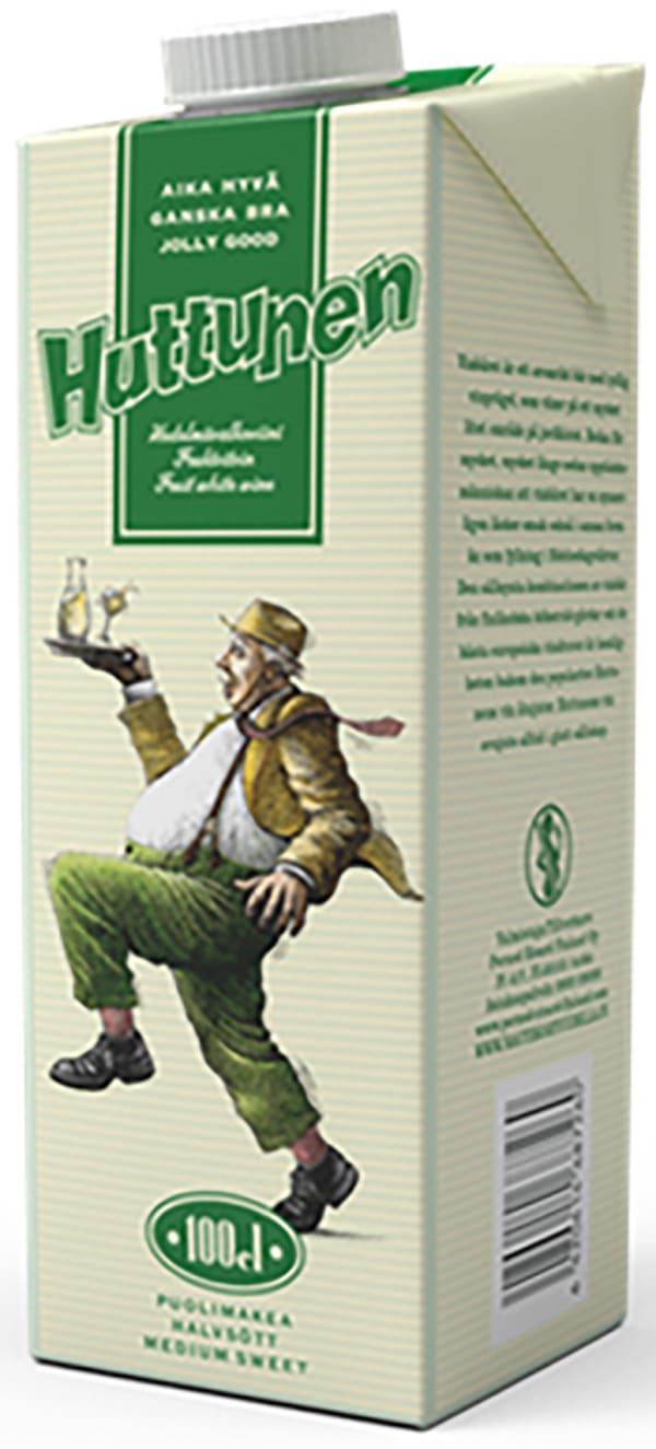 Huttunen Hedelmävalkoviini carton package