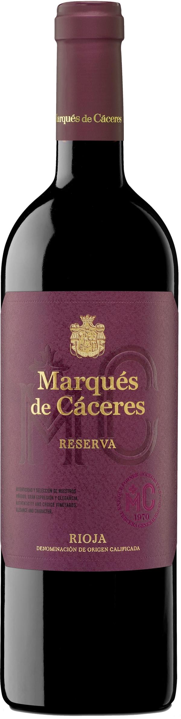 Marqués de Cáceres Reserva 2011
