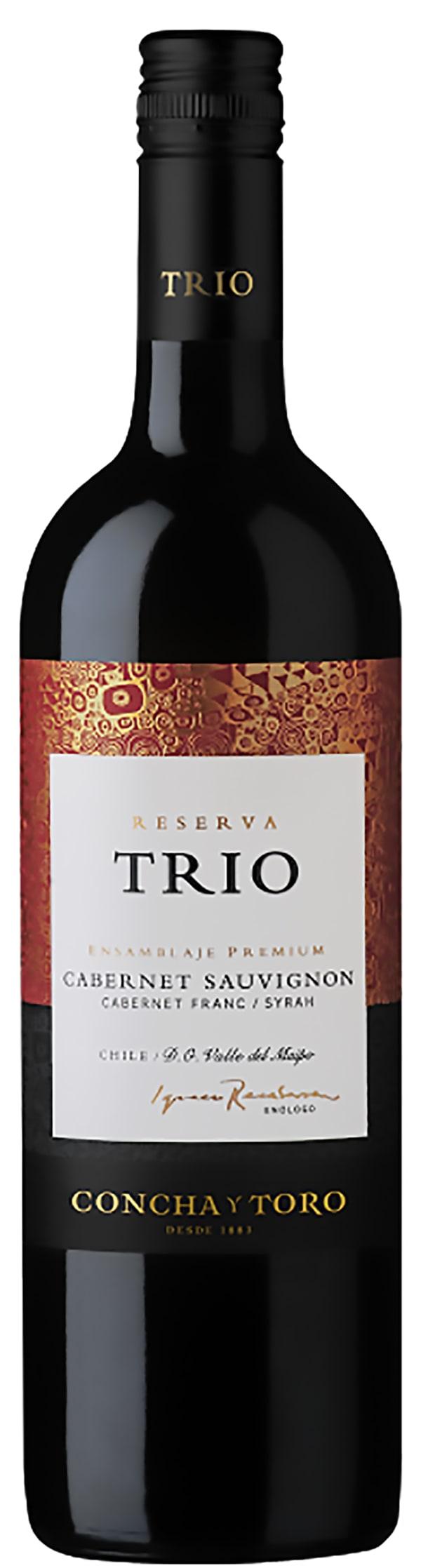 Trio Cabernet Sauvignon Cabernet Franc Syrah 2015