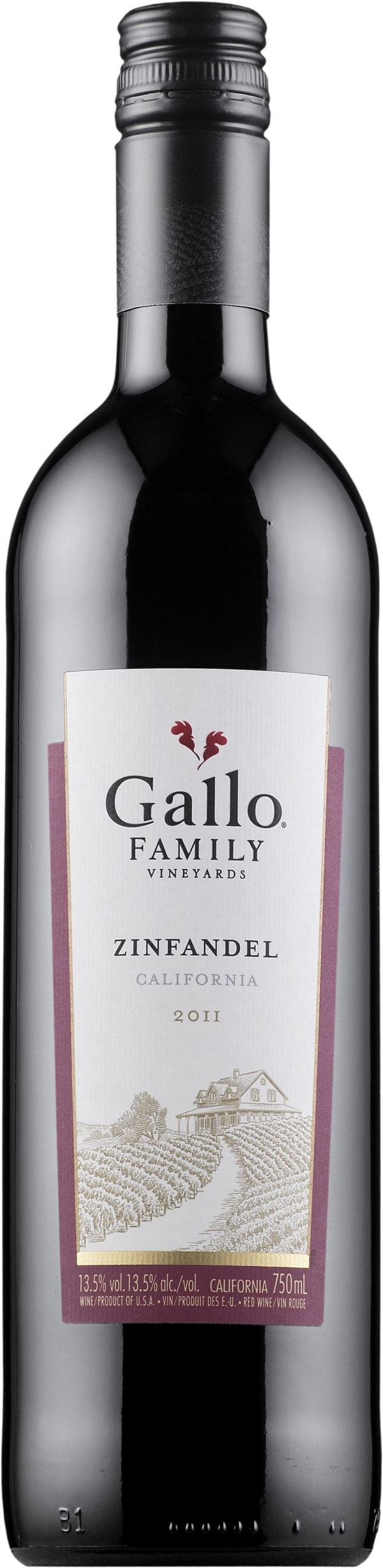 Gallo Family Vineyards Zinfandel 2014
