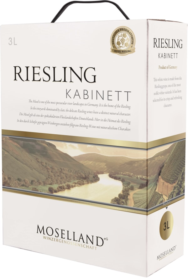 Moselland Riesling Kabinett 2016 bag-in-box