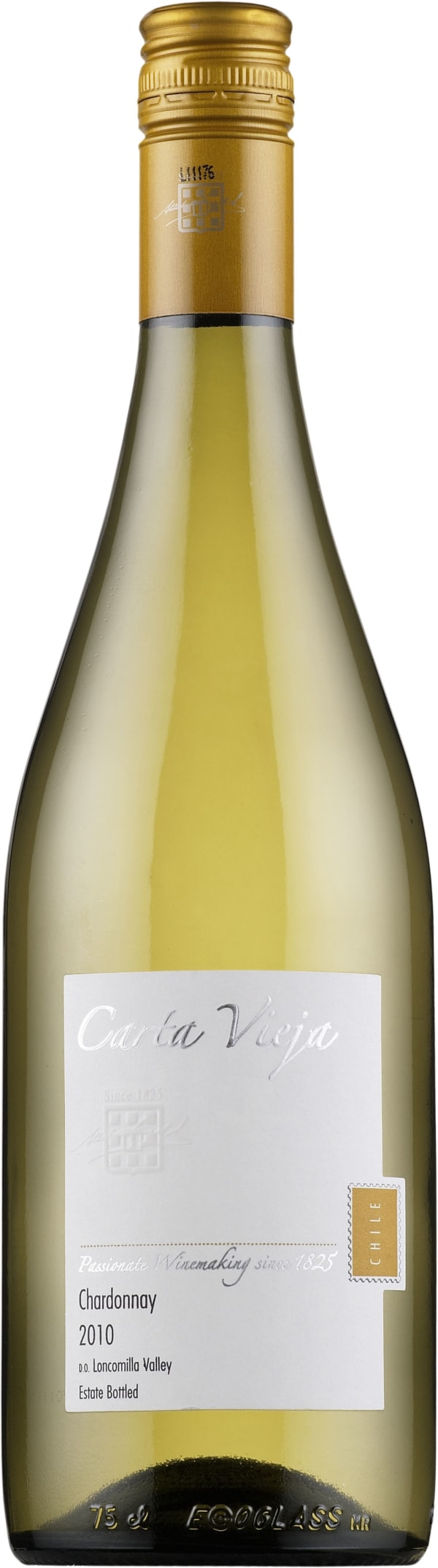 Carta Vieja Chardonnay 2014