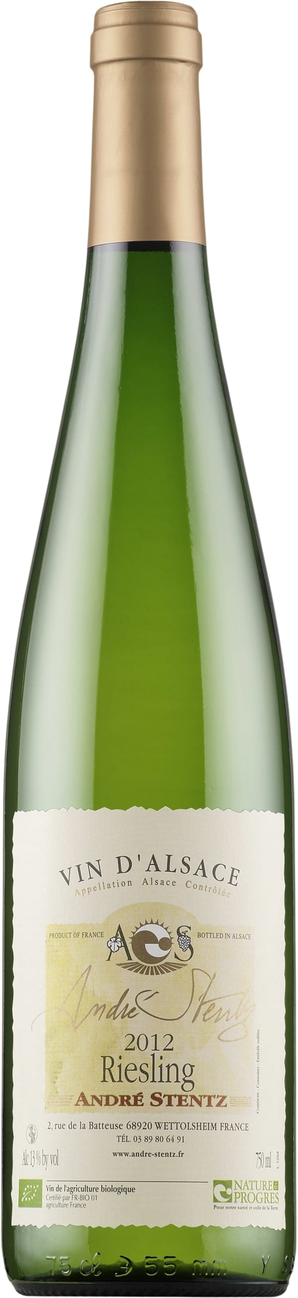 André Stentz Riesling 2015