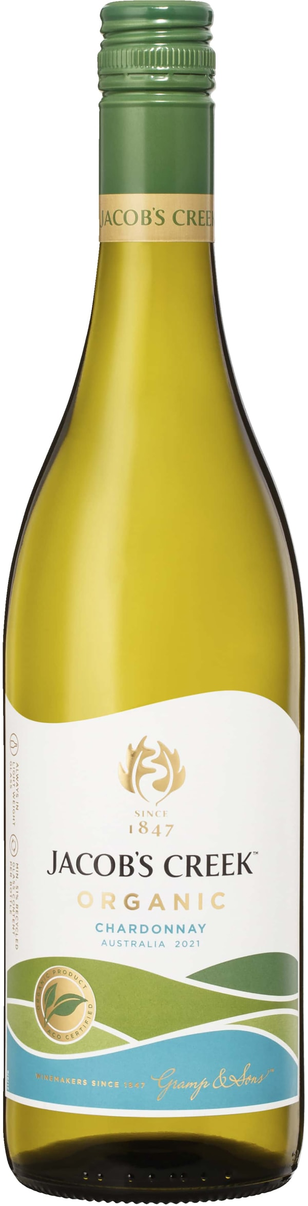 Jacob's Creek Organic Chardonnay 2016