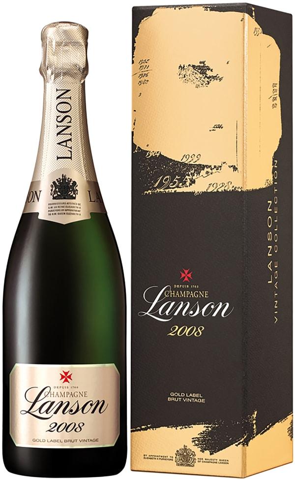 Lanson Gold Label Vintage Champagne Brut 2008