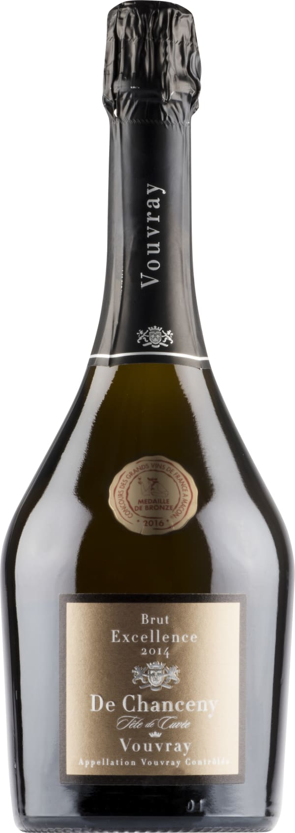De Chanceny Excellence Vouvray Brut 2014