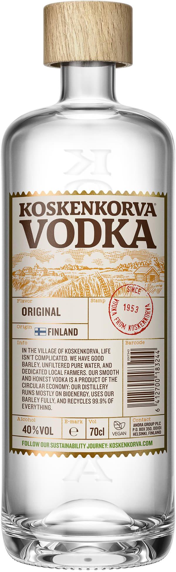 Koskenkorva Vodka 40 %