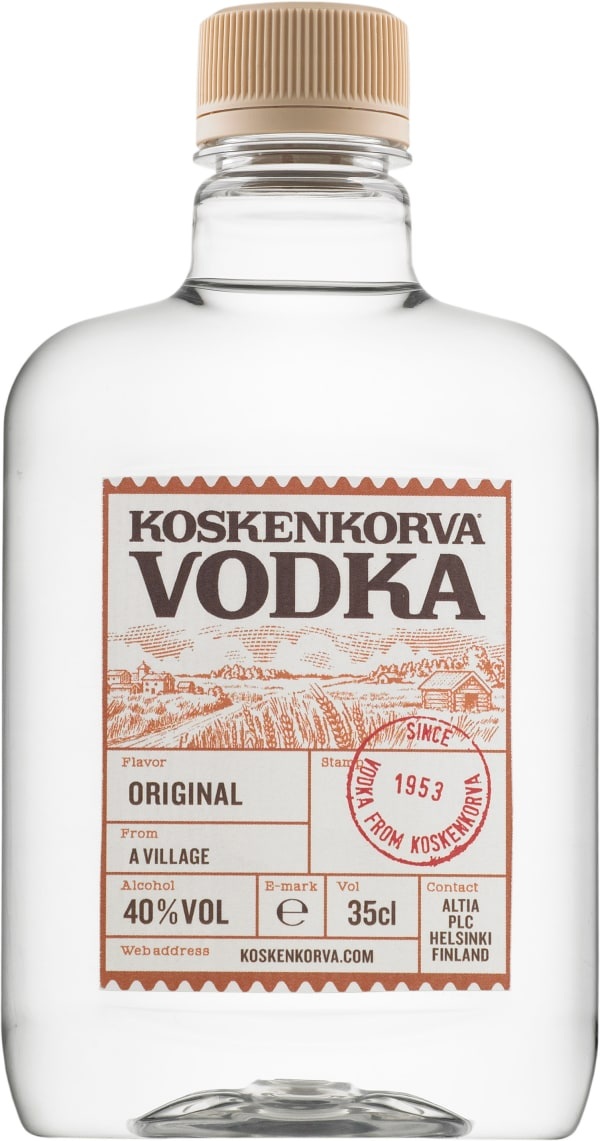 Koskenkorva Vodka 40 % plastic bottle